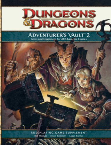 Adventurers Vault - Adventurer's Vault 2: A 4th Edition D&D Supplement