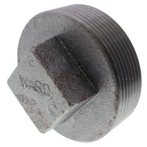2-1/2 inch Black Regular Cored Plug