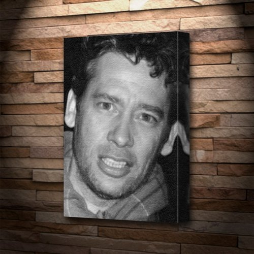 DEXTER FLETCHER - Canvas Print (LARGE A3 - Signed by the Artist) #js001