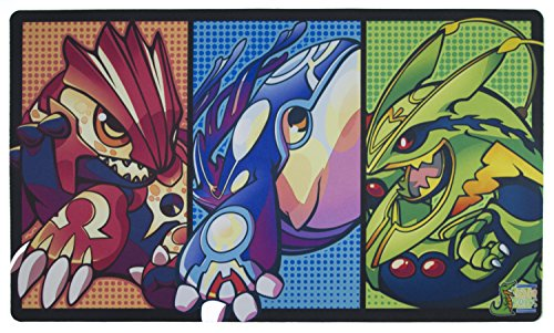 Mega Legendaries Playmat Inked Gaming - Perfect for Pokemon gaming! Pokemon Playmat. Your Game. Your Style. by Inked Playmats