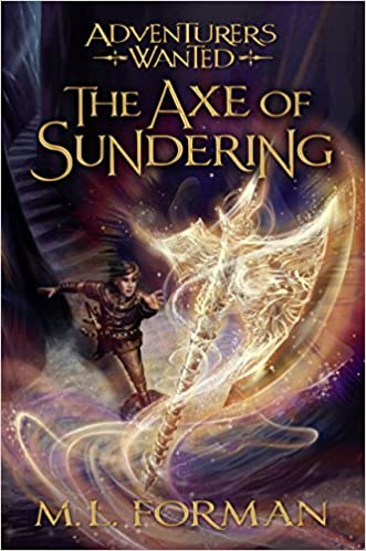 amazon com adventurers wanted book 5 the axe of sundering