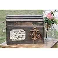 Beach Wedding Card Box - Nautical Wedding Reception Card Box