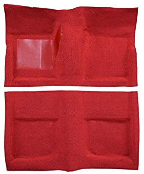 1967 to 1968 Mercury Cougar Carpet Custom Molded Replacement Kit, Coupe (501-Black 80/20 Loop) ACC