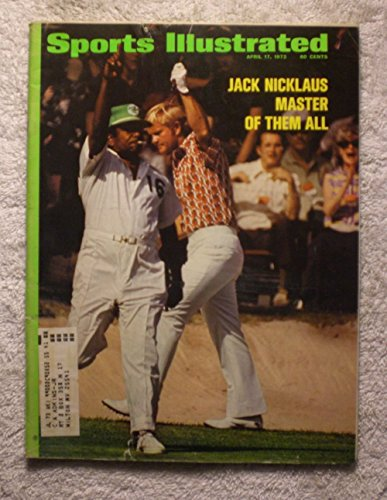 1972 Sports Illustrated April 17 Jack Nicklaus by Sports Illustrated