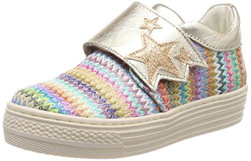 Primigi PSA 14339, Zapatillas Para Niñas Multicolore (Rosaarg.Mulpla)