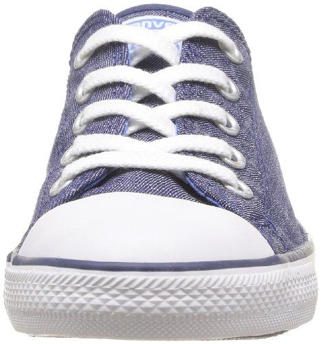 Converse Dainty Denim Ox - Zapatillas de Deporte de tela Unisex azul - azul