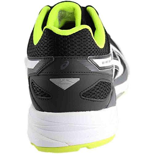 Chaussure De Running Asics Homme Gel-fortitude 7 Noir / Blanc / Jaune