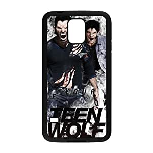 C-EUR Customized Print Teen Wolf Hard Skin Case Compatible For Samsung Galaxy S5 I9600
