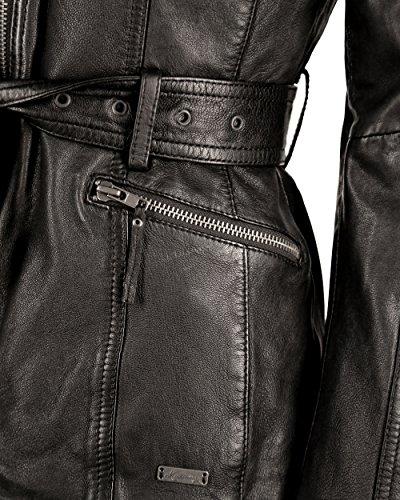 Noir Mustang Mustang Uni Uni Femme Blouson Femme Mustang Noir Blouson Uni Blouson Femme xUxw7HCqT