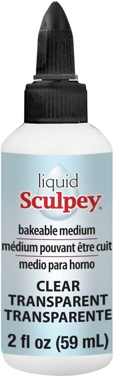 Sculpey Polyform Liquid Clay 2oz Clear