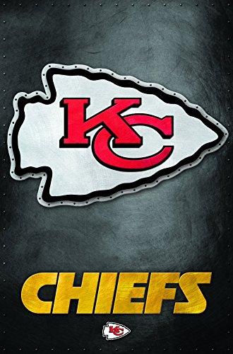 Trends International Kansas City Chiefs Logo Wall Poster 22.375