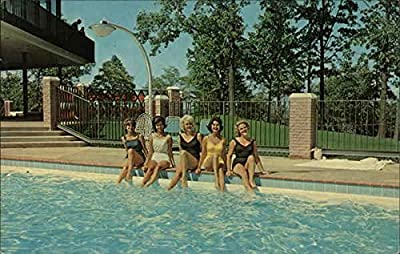 Kentucky Dam Village State Park - Village Inn, Swimming Pool Gilbertsville Original Vintage Postcard