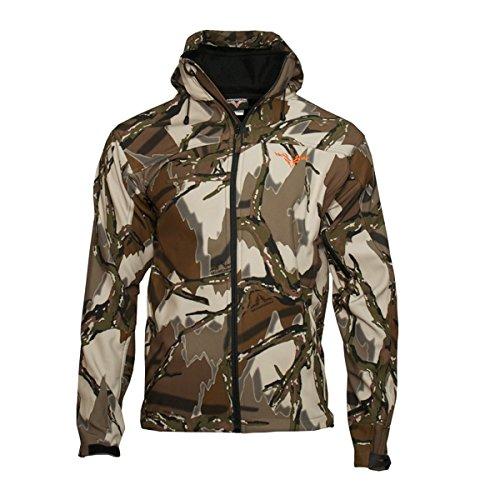 Predator Camo Men's High Plains Jacket, Brown Deception, (Predator Camo Fabric)
