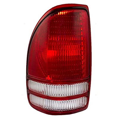Drivers Taillight Tail Lamp Replacement for Dodge Pickup Truck 55055113