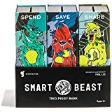 Giantsuper Smart Beast Trio Piggy Bank: 3-in-1 Money-wise...