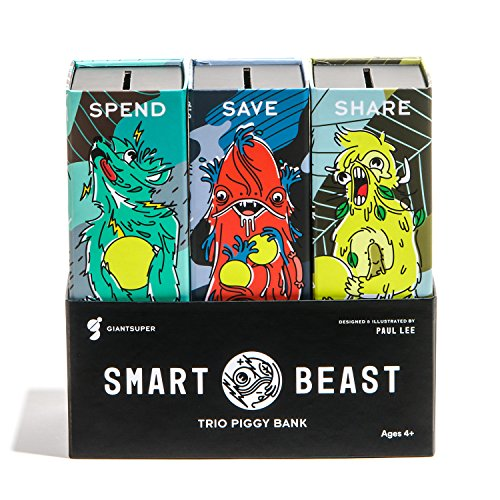 Smart Beast Trio Piggy Bankk