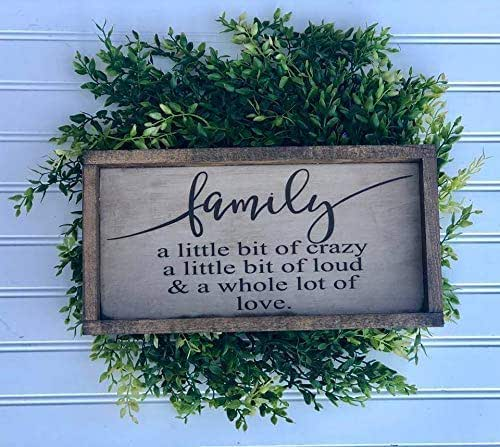 Amazon.com: Rustic Family Definition Wood Sign, Farmhouse