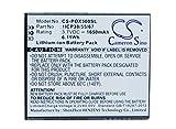 Cameron Sino 1650mAh Battery for Navon Mizu D500, Mizu D501, Mizu M500, POSH Orion Pro, X500a