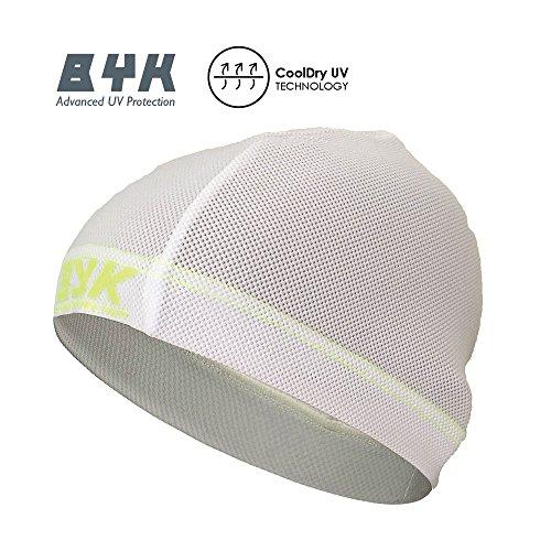 BYK Summer UV Cycling Helmet Liner Beanie Anti Sweat Cycle Cap (OneSize)