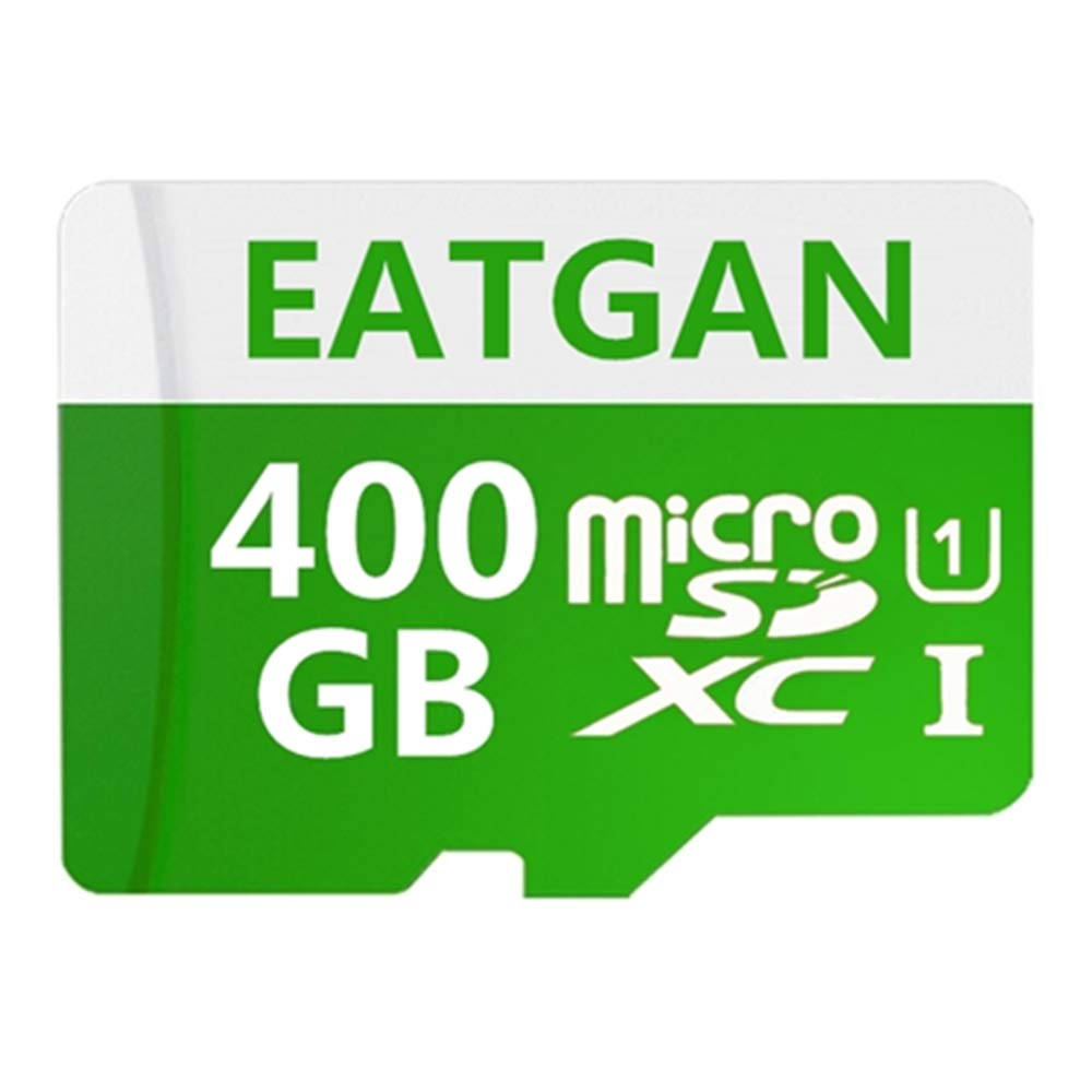 EATGAN 400GB Micro SD SDXC Card High Speed Class 10 Memory SD Card with SD Adapter