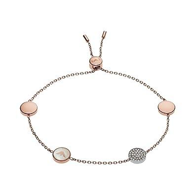 Emporio Armani Women's Rose Gold Bracelet EGS2308221 Oq1wzr