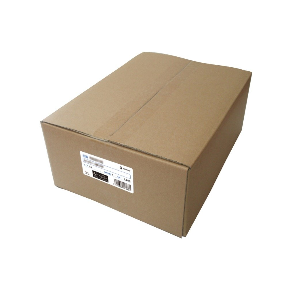ヒサゴ FSC(R)認証 マルチプリンタ帳票 A4 カラー 3面 1200枚入 FSC2079Z B0147P0AO4