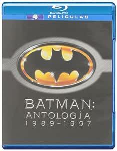 Pack: Batman + Batman Returns + Batman & Robin + Batman Forever ...