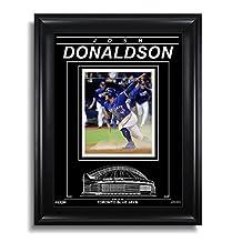 Josh Donaldson Toronto Blue Jays Engraved Framed Photo - 2016 ALDS Slide