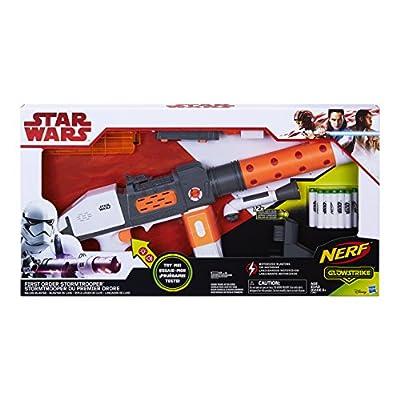 Star Wars Nerf First Order Stormtrooper Deluxe Blaster: Toys & Games