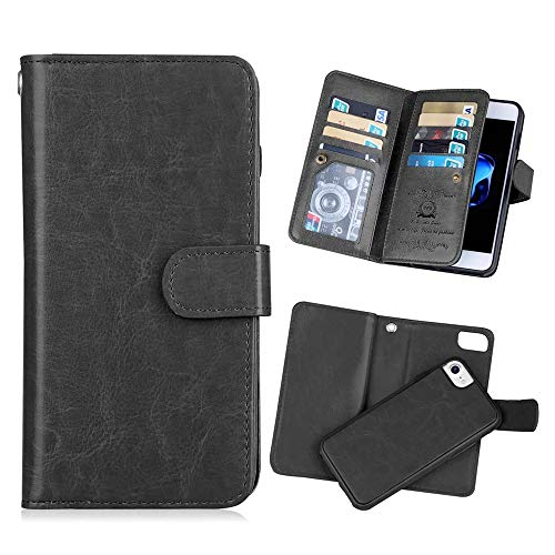 Hynice iPhone Leather Magnetic Detachable