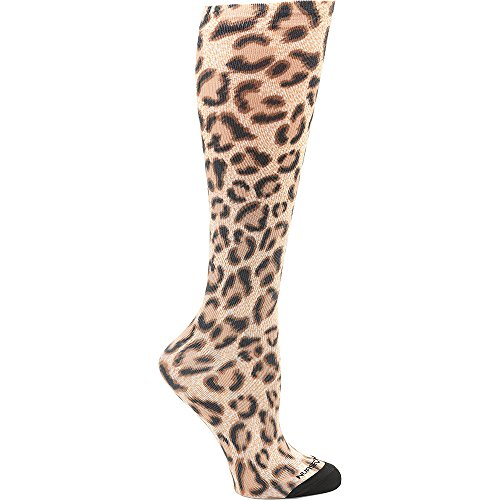 Nurse Mates Women's 360 12-14Mmhg Compression Sock Leopard