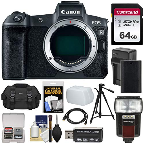 Canon EOS R Full Frame Mirrorless Digital Camera Body with 6
