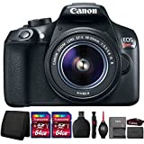 Canon EOS Rebel T6 DSLR Camera with 18-55mm Lens and Accessories