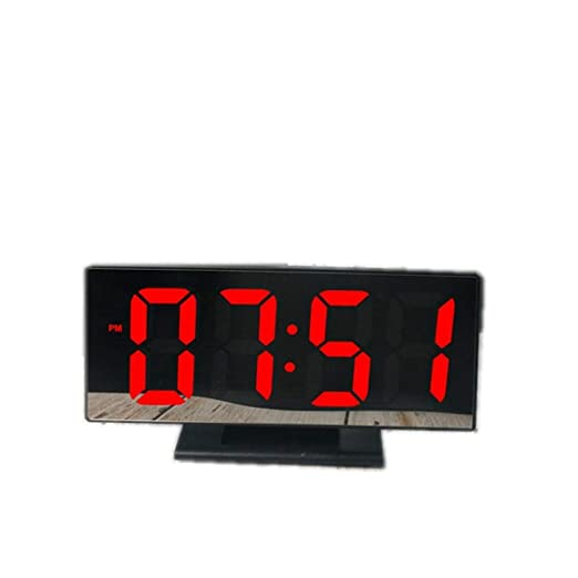 LPKGYHUS Reloj Despertador Reloj Despertador Digital USB Reloj ...