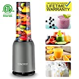 Updated 2019 Version Professional Personal Countertop Blender for Milkshake, Frozen Fruit Vegetables Drinks, Smoothie,...