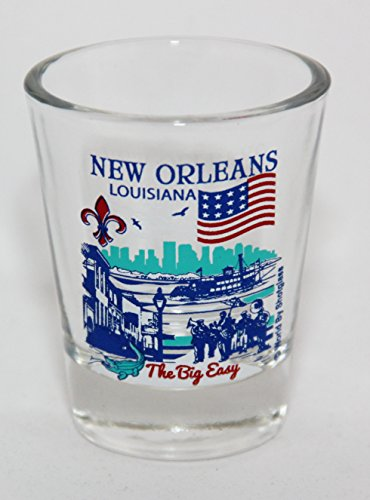 New Orleans Louisiana Great American Cities Collection Shot Glass