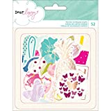 American Crafts Dear Lizzy Serendipity Die Cut Shapes