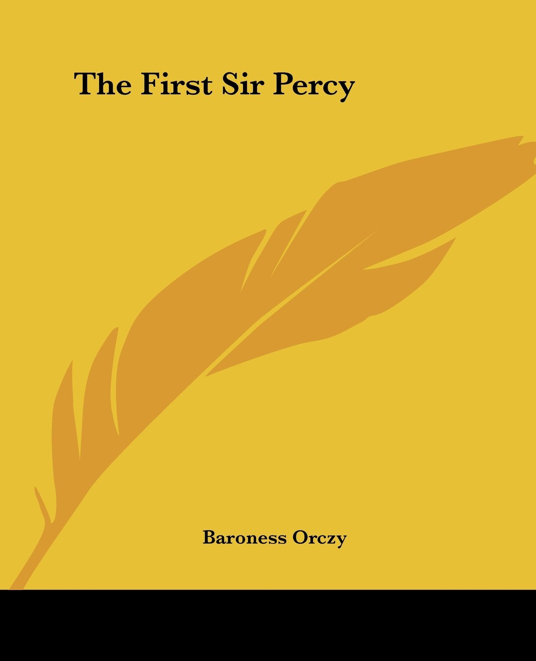 The First Sir Percy pdf