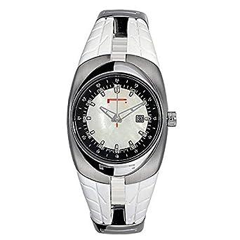 Uhr Pirelli Damen 7951101855 Quarz (Batterie) Stahl Quandrante Perlmutt Armband Gummiarmband '