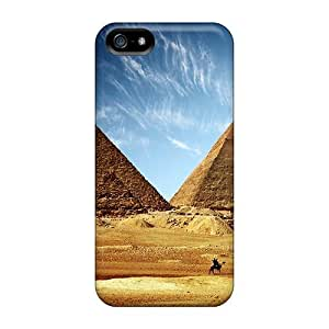 New Style Case Cover VGpqRig8770YpciB Egyptian Pyramids Compatible With Iphone 5/5s Protection Case