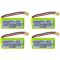 Axiom Rechargeable Battery For V-Tech BT-166342 / BT-266342 / BT-183342 / BT-283342 [4-Pack]
