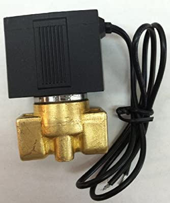 1/4 Solenoid Valve 24v DC Brass Electric Air Water Gas Diesel Normally Closed NPT from Solenoid Valve Guy