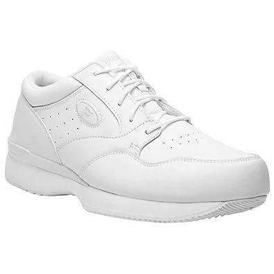 731963cb6f Propet Men's Life Walker Medicare/HCPCS Code = A5500 Diabetic Shoe White  8.5 M US