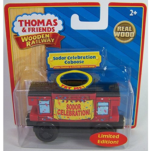 Thomas & Friends Limited Edition Musical Sodor Celebration Caboose Wooden - Sodor Caboose Line