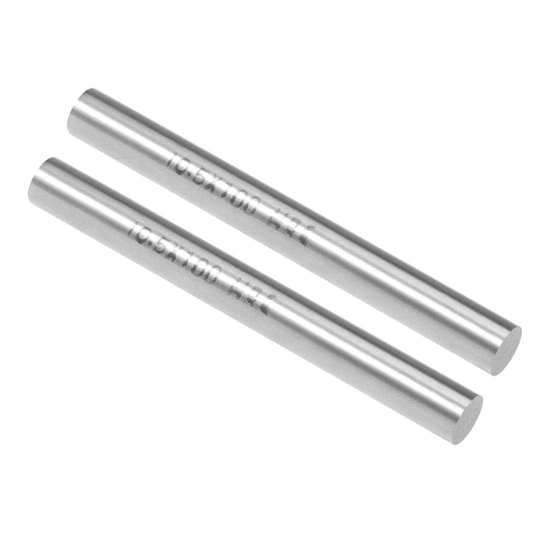 sourcing map HSS Lathe Round Rod Solid Shaft Bar 10mm Dia 100mm Length