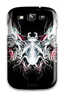 Nora K. Stoddard's Shop UDBSVJBSVUC51IXW Premium Shapes Abstract Back Cover Snap On Case For Galaxy S3