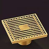SJQKA Floor Drain Floor Drain Copper Deodorant Floor Drain Washing Machine Floor Drain Sewer Deodorant Bathroom Bathroom Floor Drain Cover,C