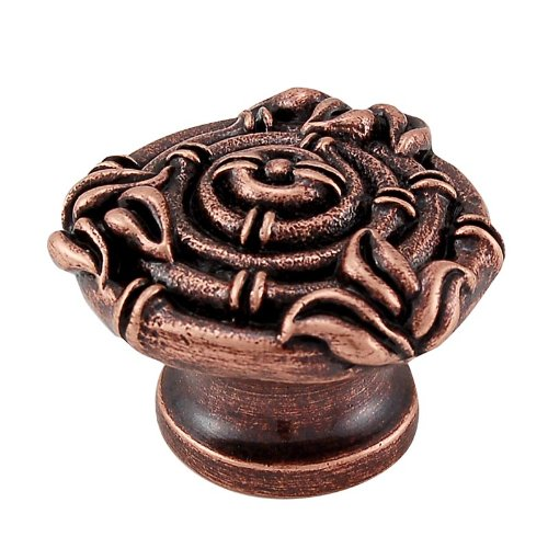 Vicenza Designs K1130 Palmaria Bamboo Knob, Large, Antique Copper