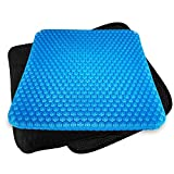 Rariro Extra-Large Gel Seat Cushion, Breathable