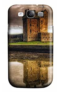 Cute the Magic Castle Designed PC Materical DIY Phone Case for Samsung s3/i9300
